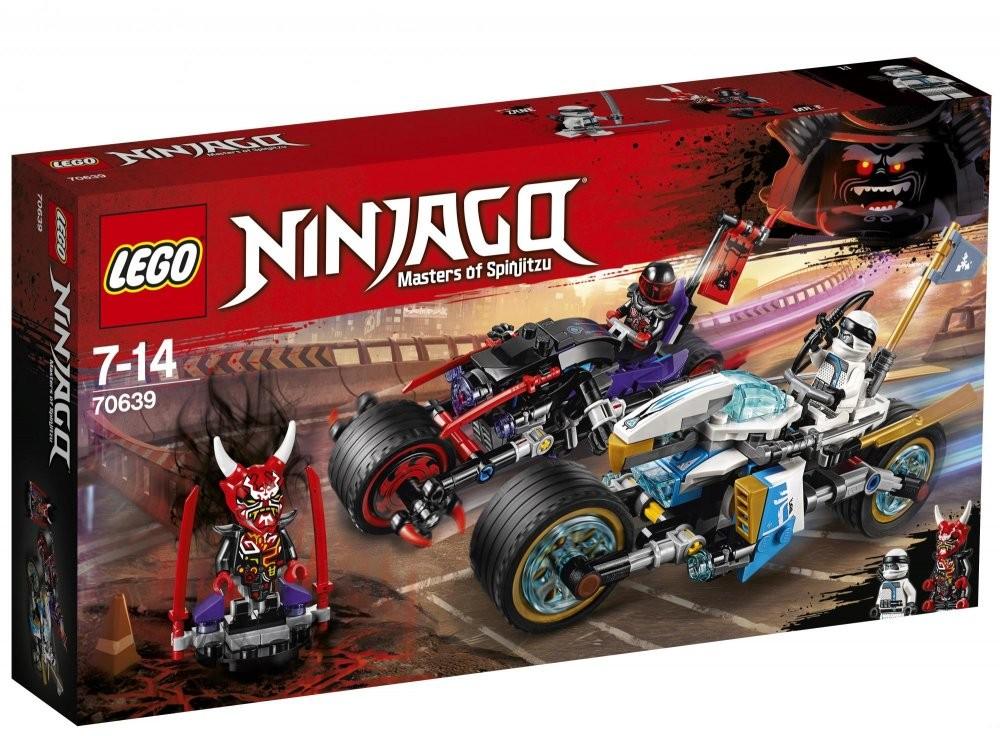 LEGO - Ninjago 70639 Pouličné preteky Hadieho jaguára