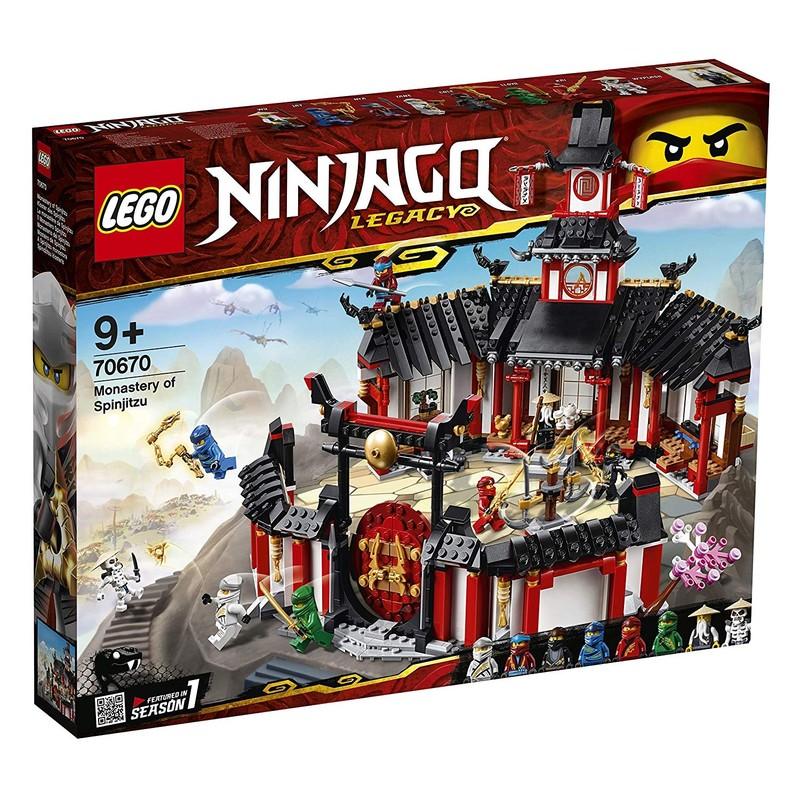 LEGO - Ninjago 70670 Chrám Spinjitzu