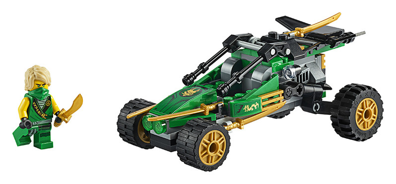 LEGO - Ninjago 71700 Bugina do džungle