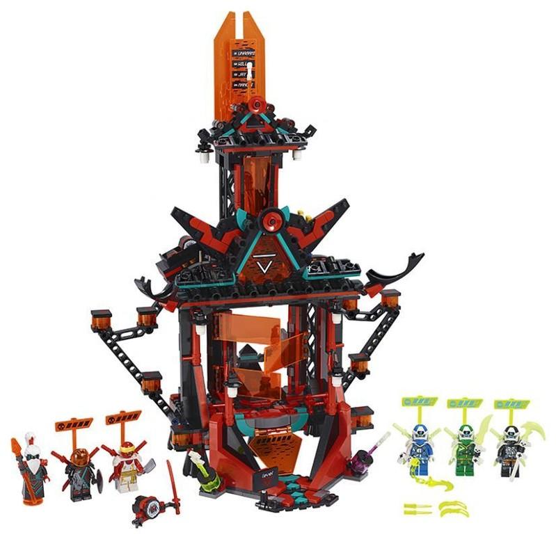 LEGO - Ninjago 71712 Chrám cisára bláznovstva