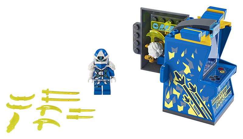 LEGO - Ninjago 71715 Jayov avatar - arkádový automat
