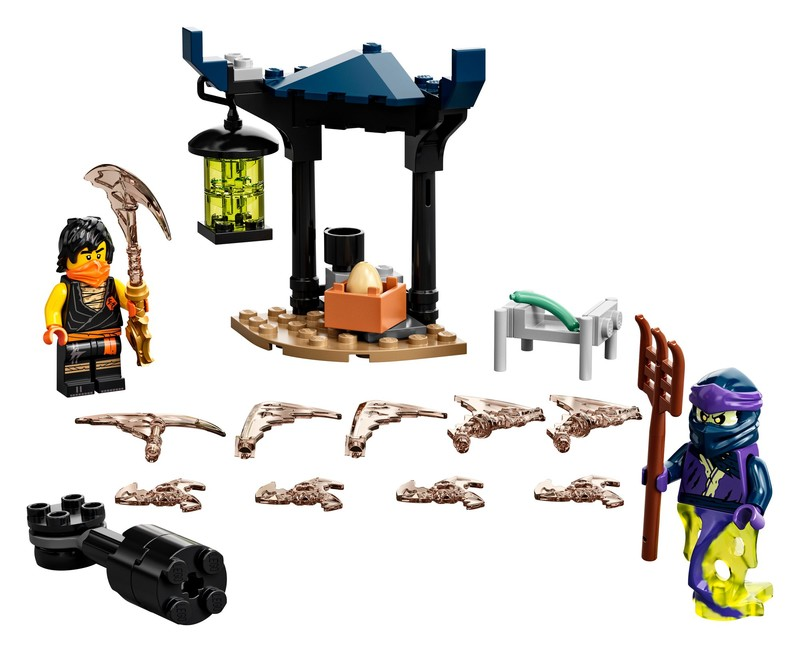 LEGO - Ninjago 71733 Epický súboj - Cole vs. prízračný bojovník