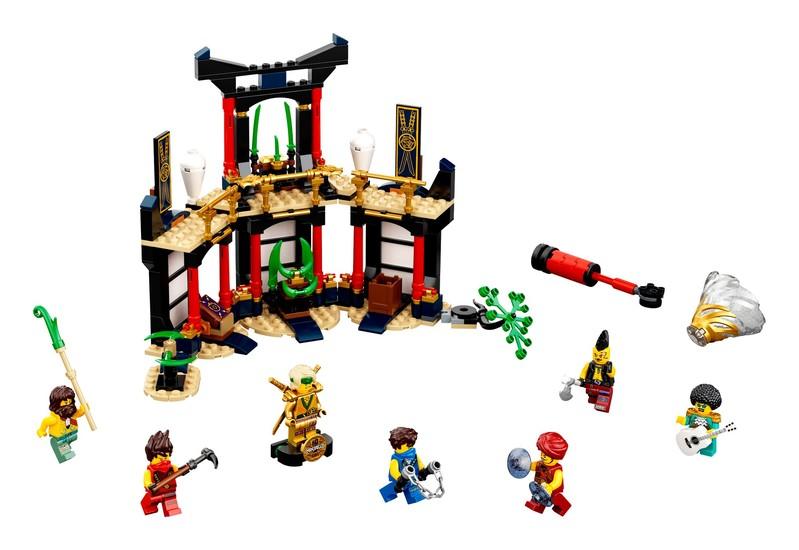 LEGO - Ninjago 71735 Turnaj živlov