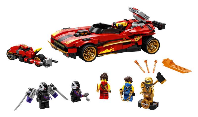 LEGO - Ninjago 71737 Kaiovo červené superauto