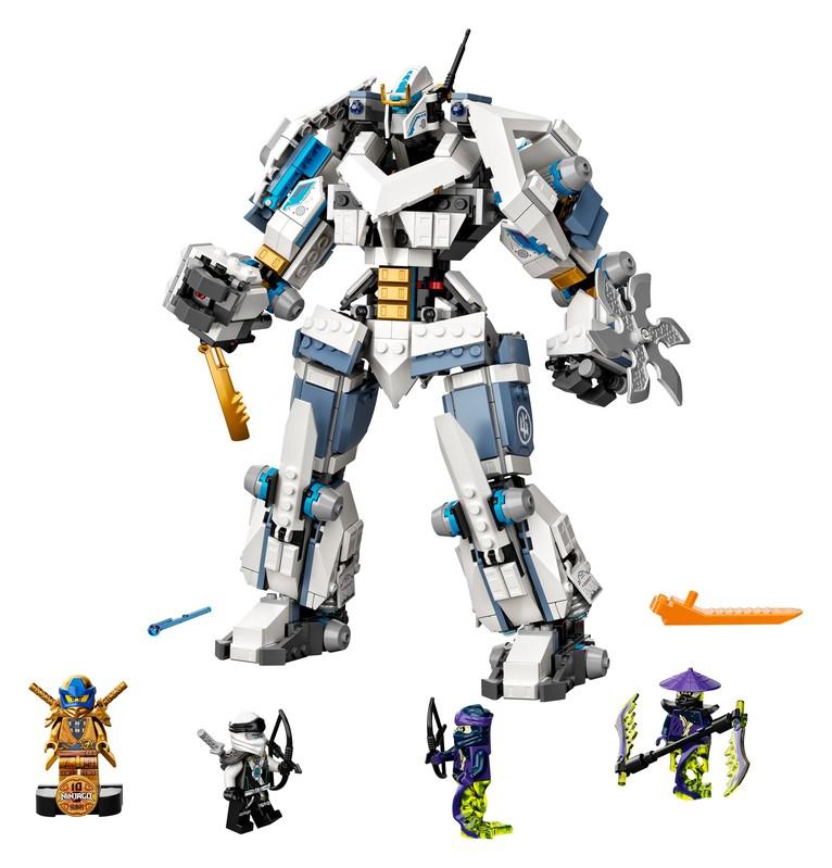 LEGO - Ninjago 71738 Zaneova bitka s titanskými robotmi