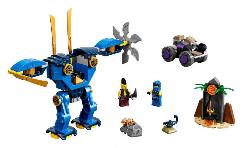 LEGO - Ninjago 71740 Jayov elektrorobot