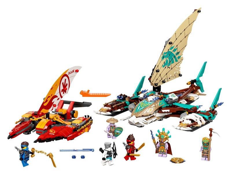 LEGO - Ninjago 71748 Námorná bitka s katamaránom