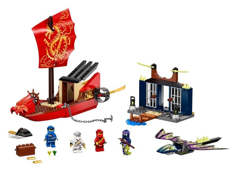 LEGO - NINJAGO® 71749 Posledný let Odmeny osudu