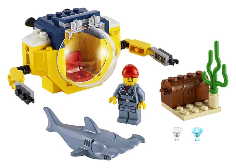 LEGO - Oceánska miniponorka