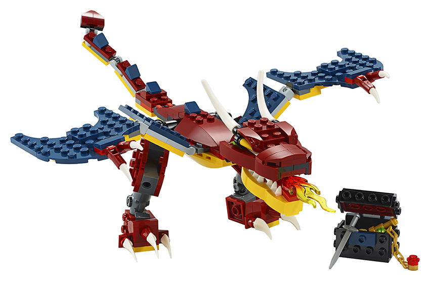 LEGO - Ohnivý Drak