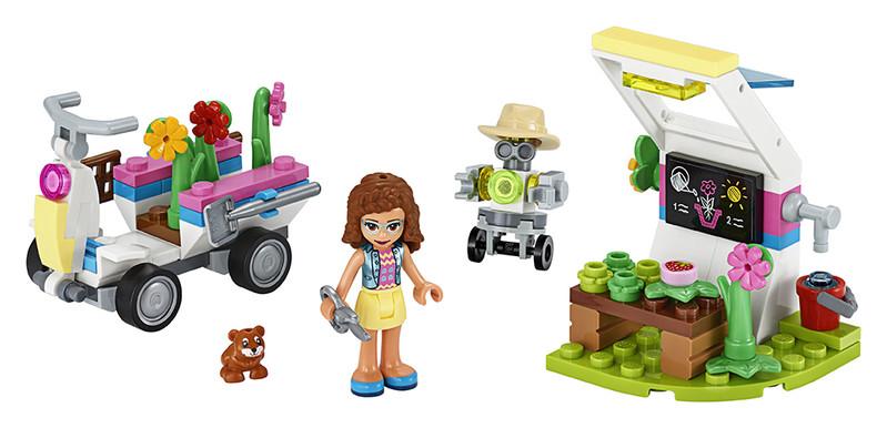 LEGO - Olivia a jej kvetinová záhrada