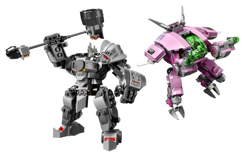 LEGO - Overwatch 75973 D.Va & Reinhardt