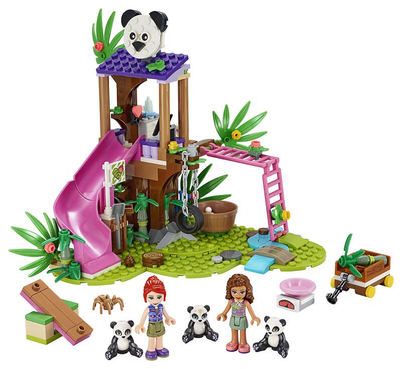 LEGO - Pandí domček na strome v džungli