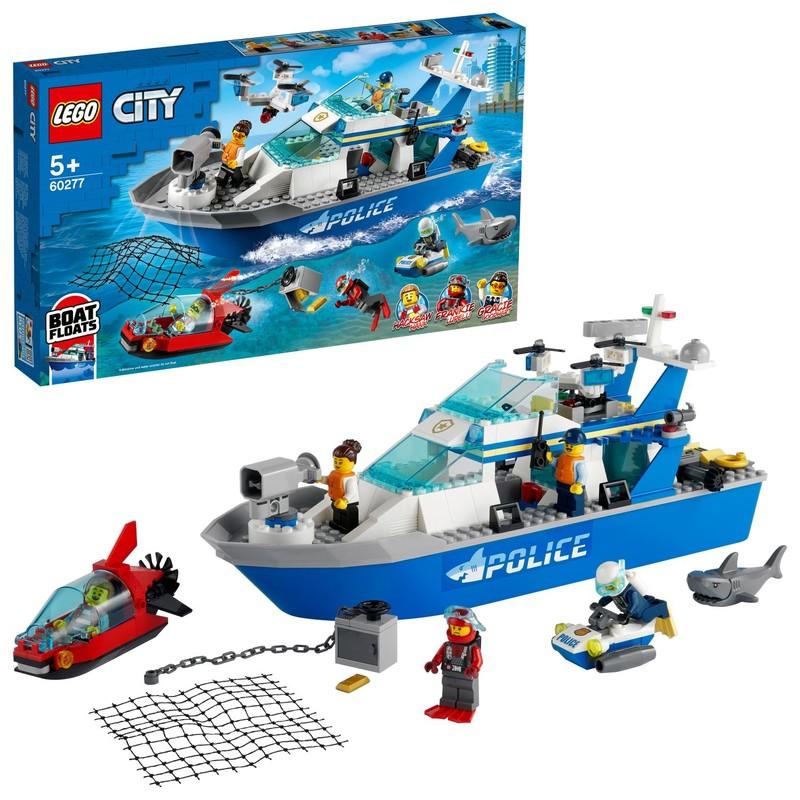 LEGO - Policajná hliadková loď