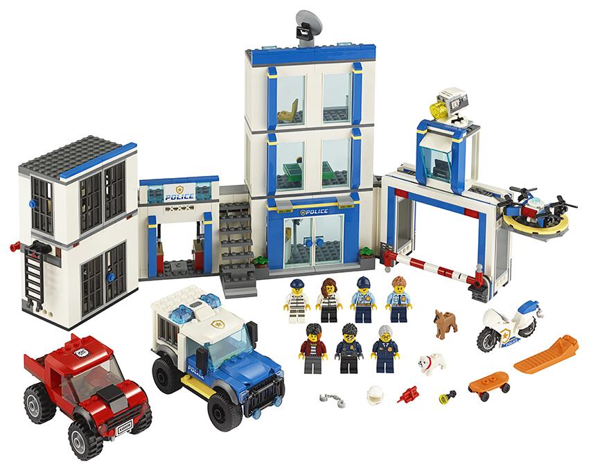 LEGO - Policajná Stanica