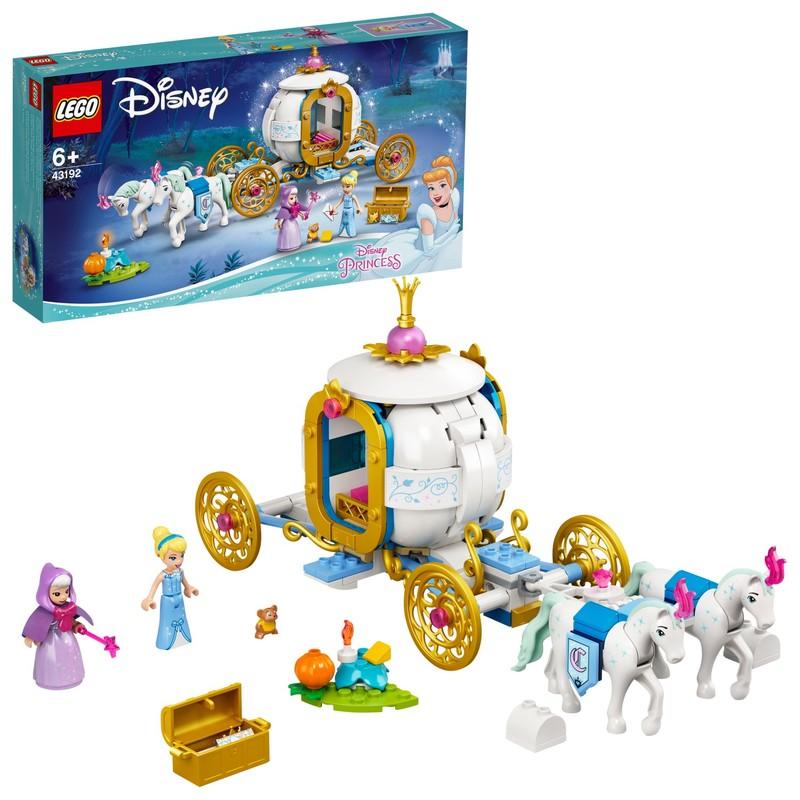 LEGO - Popoluška a kráľovský kočiar