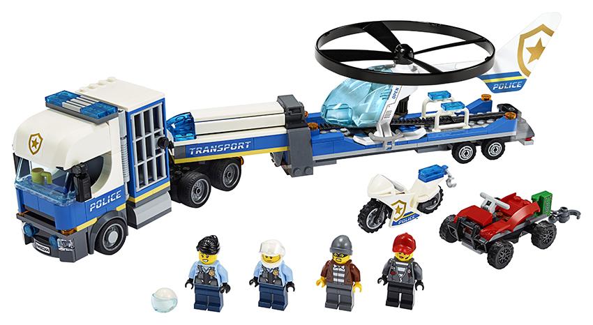 LEGO - Preprava Policajnej Helikoptéry
