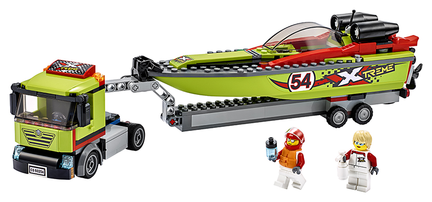 LEGO - Preprava Pretekárskeho Člnu