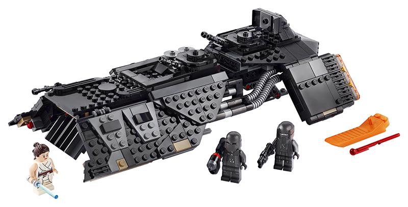 LEGO - Prepravná loď rytierov z Renu