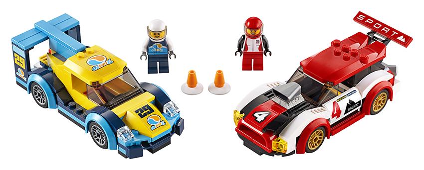 LEGO - Pretekárske Autá