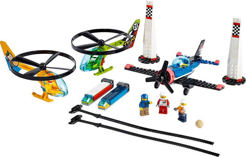 LEGO - Preteky vo vzduchu
