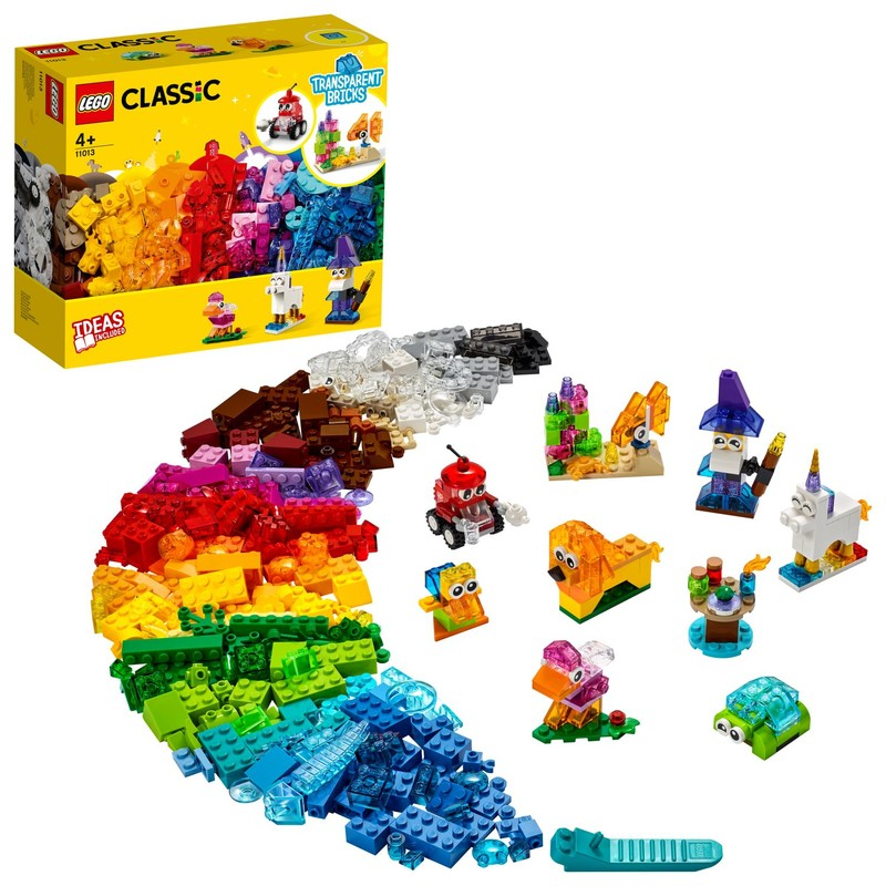 LEGO - Priesvitné kreatívne kocky