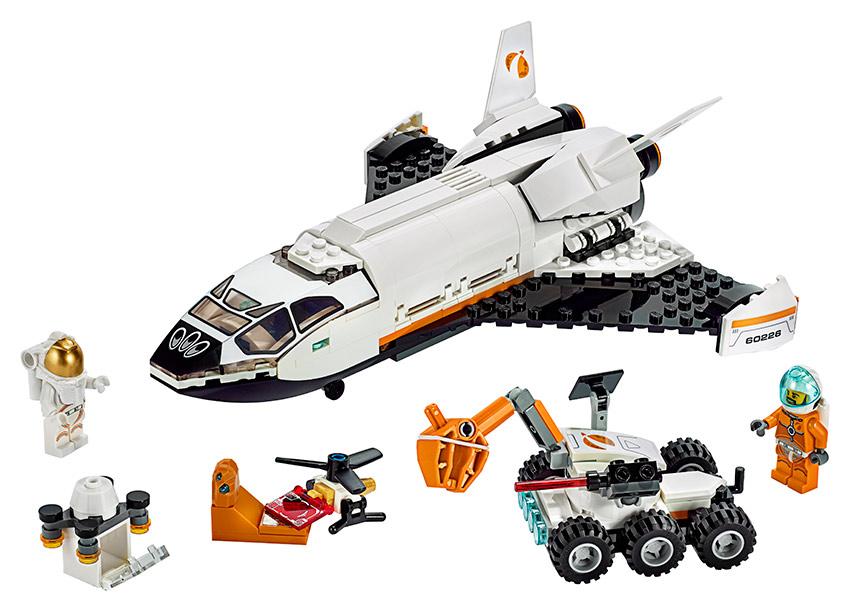 LEGO - Raketoplán Skúmajúci Mars