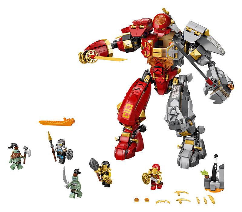 LEGO - Robot ohňa a kameňa