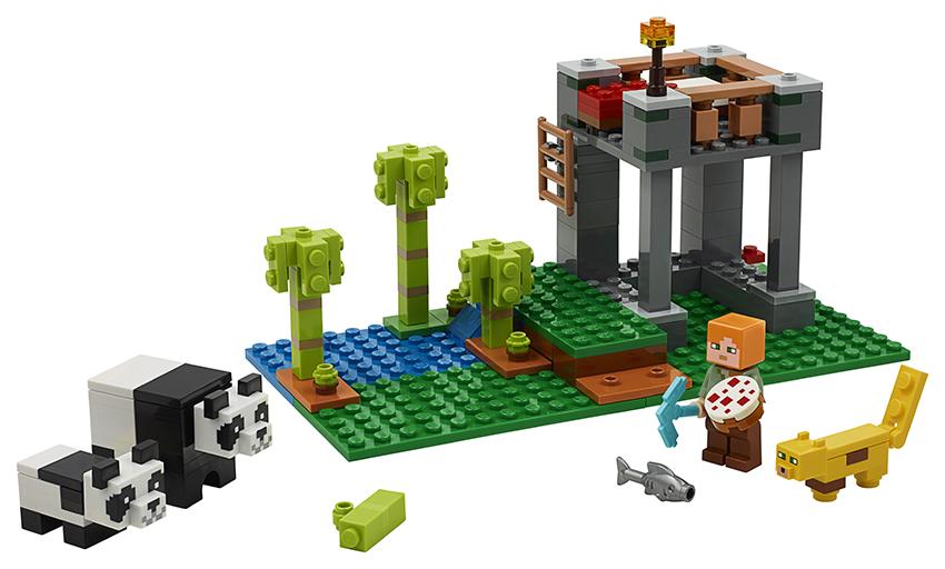 LEGO - Škôlka Pre Pandy