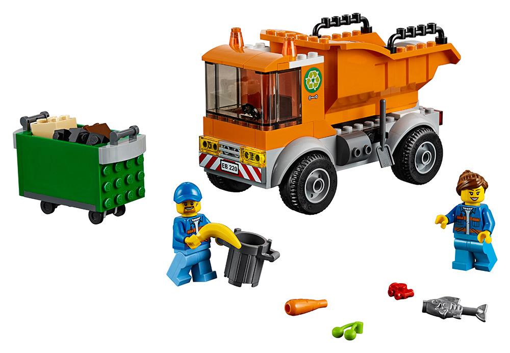 LEGO - Smetiarske Auto