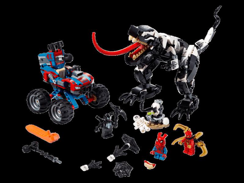 LEGO - Spider-Man Pasca na Venomosaura