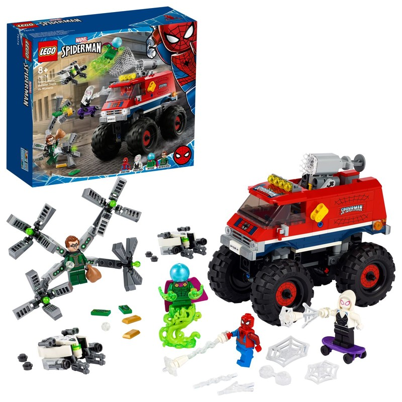 LEGO - Spider-Man v monster trucku vs. Mysterio