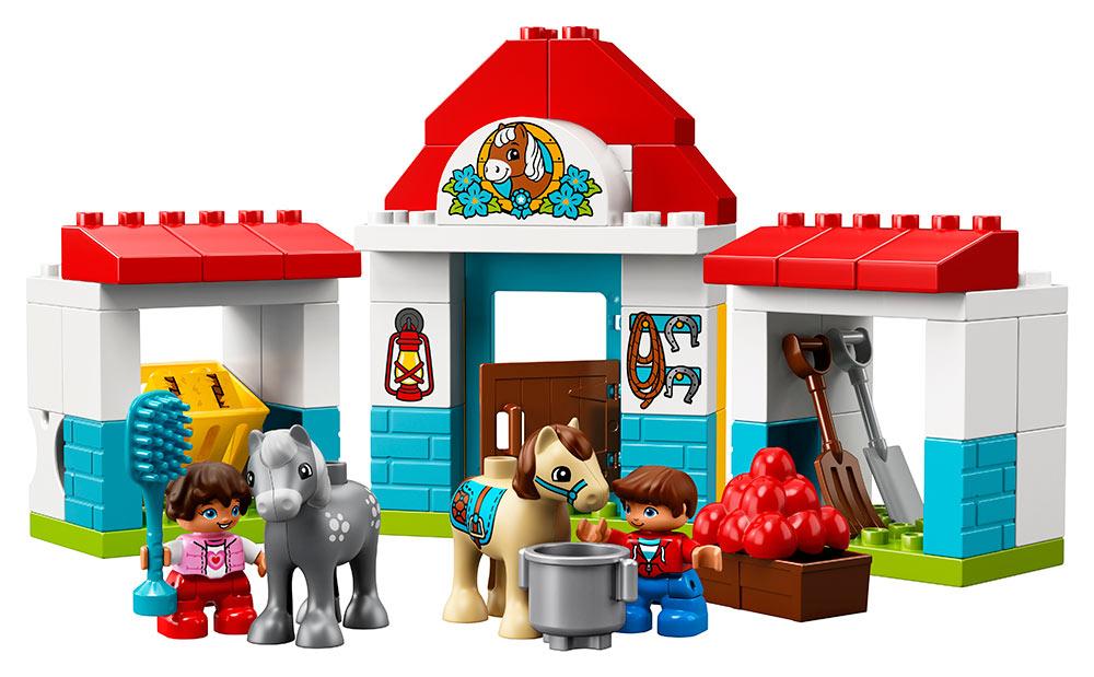 LEGO - Stajne Pre Poníka