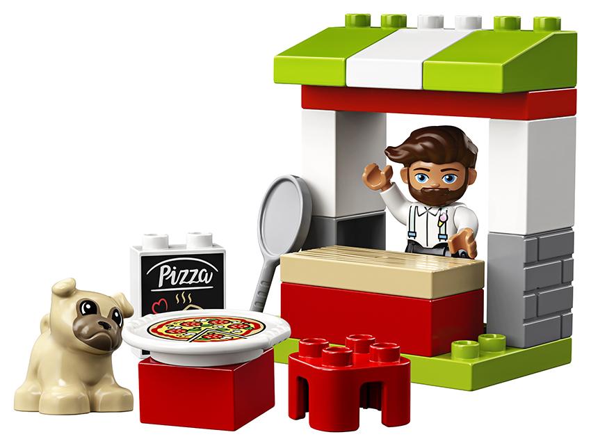 LEGO - Stánok S Pizzou
