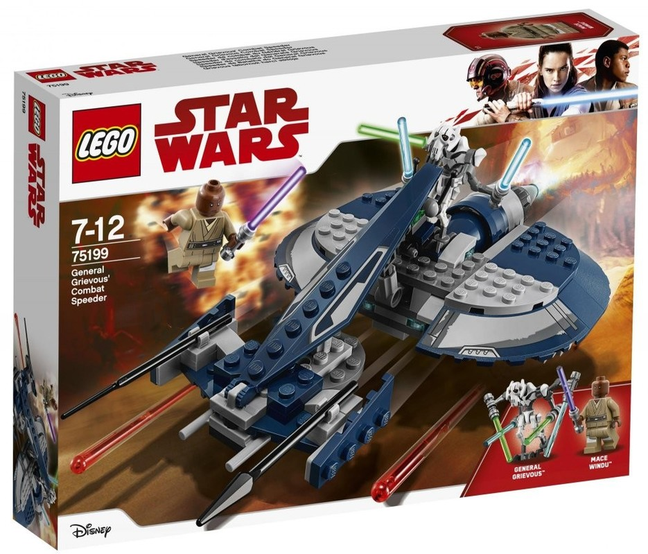 LEGO - Star Wars 75199 Bojový speeder generála Grievousa