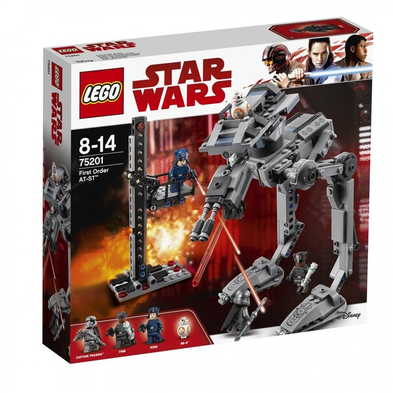 LEGO - Star Wars 75201 AT-ST™ Prvého rádu