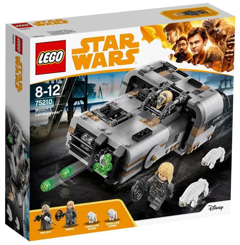 LEGO - Star Wars 75210 Molochov pozemný speeder