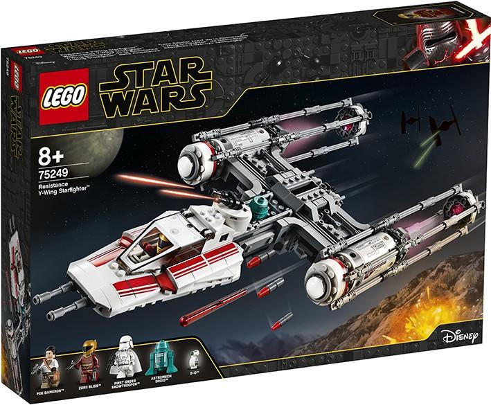 LEGO - Star Wars 75249 Stíhačka Y-Wing Odporu™