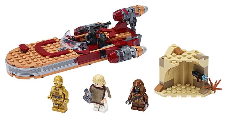 LEGO - Star Wars 75271Pozemný spíder Luka Skywalkera
