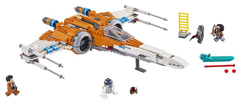 LEGO - Star Wars 75273 Stíhačka X-wing Poea Damerona