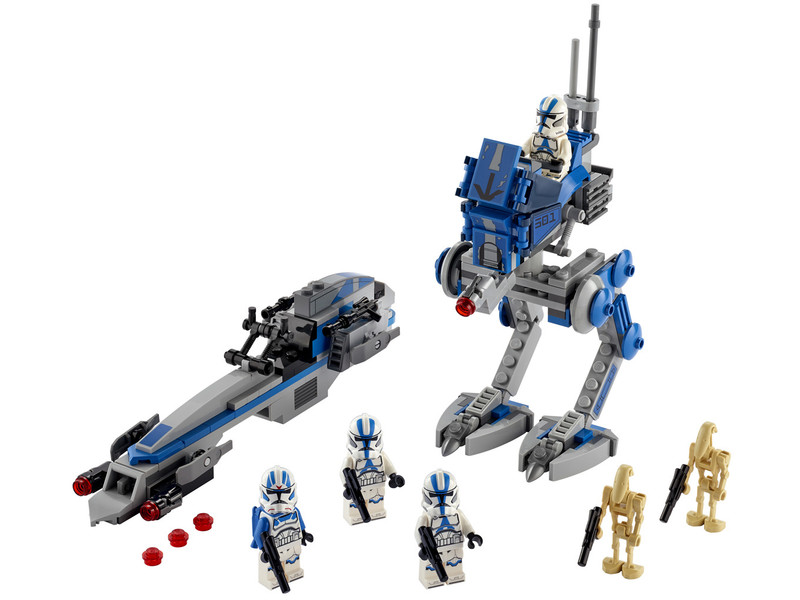 LEGO - Star Wars 75280 Klonoví vojaci z 501. légie