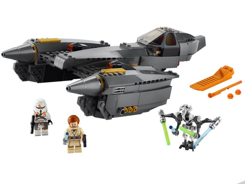 LEGO - Star Wars 75286 Stíhačka generála Grievousa
