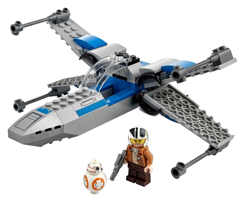 LEGO - Star Wars 75297 Stíhačka X-wing Odporu