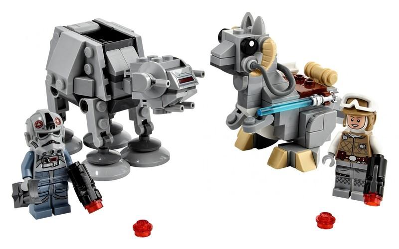 LEGO - Star Wars 75298 Mikrobojovníci AT-AT vs. tauntaun