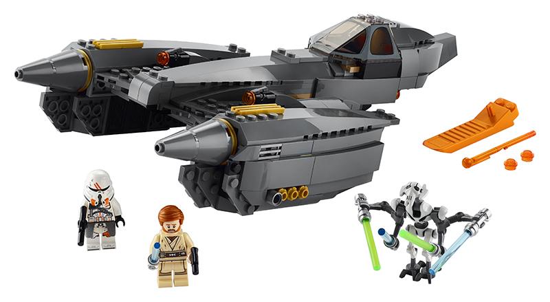 LEGO - Stíhačka generála Grievousa