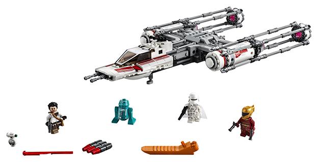 LEGO - Stíhačka Y-Wing Odporu