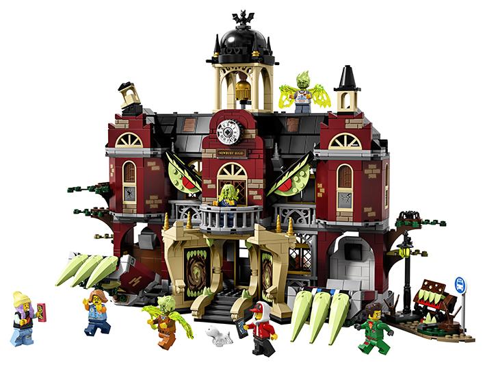 LEGO - Strašidelná Stredná Škola V Newbury