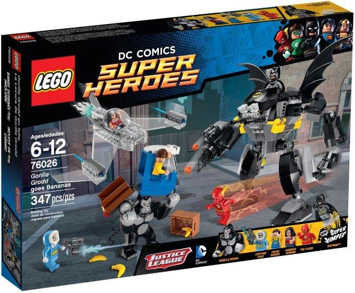 LEGO - Super Heroes 76026 Vyčíňanie Gorily Grodd