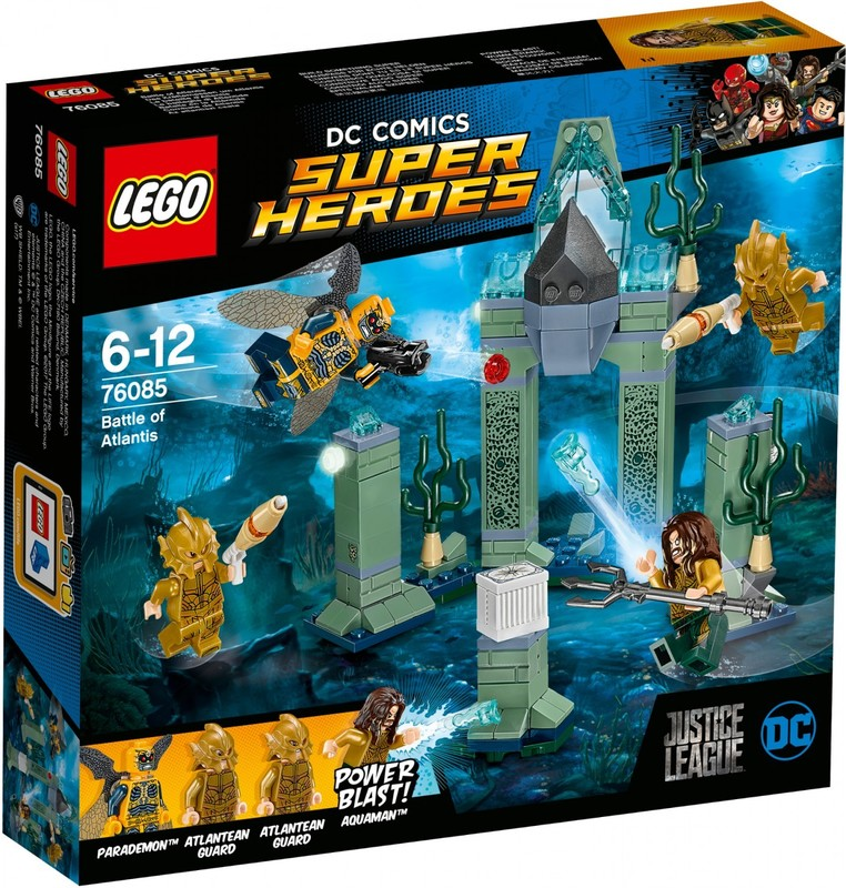 LEGO - Super Heroes 76085 Bitka o Atlantídu