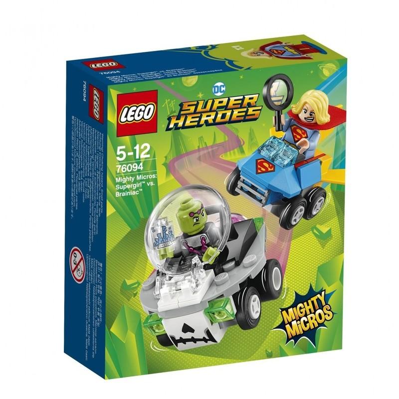LEGO - Super Heroes 76094 Mighty Micros: Supergirl™ vs. Brainiac™